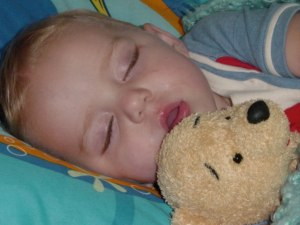 In 4 years that Pooh Bear will still be snuggled up to that sweet, curse-word spewing mouth